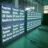 Quadro de avisos ao ar livre do indicador de diodo emissor de luz da cor cheia P10 para anunciar