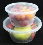 Microwaveable pp. Plastiknahrungsmittelbehälter mit Kappe
