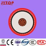 6/10kv Yxc7V-R (TS) XLPE Isolierung Belüftung-Hüllen-kupfernes Kabel, N2xsy VDE0276 Kabel