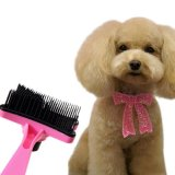 Un cepillo más parejo de Gilling del peine de la preparación del pelo del gato del perro de animal doméstico