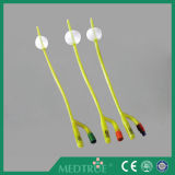 CE/ISO 승인되는 의학 처분할 수 있는 4 방법 두 배 풍선 표준 유액 Foley 카테테르 (MT58014142)