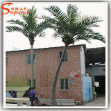 Напольная пальма кокоса стекла волокна украшения искусственная