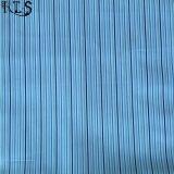셔츠 복장 Rls50-16po를 위한 면 포플린 길쌈된 털실에 의하여 염색되는 직물