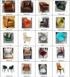 Sillas de salón de cuero de la barra de Brown del diseño europeo modernas (FOH-LC18)
