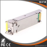 1000Base Tx 1550nm/Bx 1490nm SFP BIDI 송수신기 80km