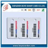 Promoción y tarjeta de Menbership de la alta calidad con el código de barras