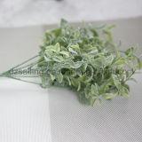 플라스틱은 떠난다 결혼식 또는 홈 또는 정원 훈장 (SF16294A)를 위한 Aritificial 꽃을