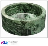 Bassins de cuisine et bassin de marbre colorés de salle de bains de lavage à un mains
