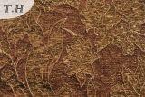 Brown 2016 выходит ткань мебели жаккарда 330GSM