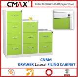 Cnbm 다채로운 서랍 수직 서류 캐비넷