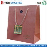 Brown 2015 Kraft Paper Shopping Bag in Super Quality