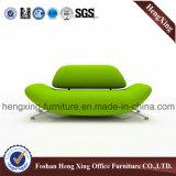 Sofa de salle de séjour de conception de sofa en cuir d'unité centrale nouveau (HX-SN109)
