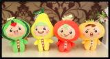 Het nieuwe Stuk speelgoed van de Pluche van de Knuffel van de Pluche van de Stof Kleurrijke