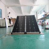 Panneau solaire de 2 panneaux de module pliable de picovolte pour le système d'alimentation solaire