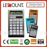 10 cifre Aluminium e ABS Dual Power Handheld Calculator (LC528)