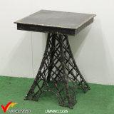 Кофеий Antique квадрата утюга Эйфелевы башни черный/таблица чая