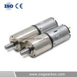 12V de Motor van het Toestel van gelijkstroom met de Planetarische Versnellingsbak van de Vermindering