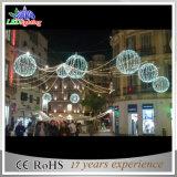 LED-Kugel-Zeichenkette beleuchtet im Freien Dekoration-weißes Weihnachtslichter