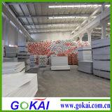 Haciendo publicidad de la impresión colorear la tarjeta de la espuma de 5m m (el material del PVC)