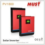 Inverseur solaire hybride pur 1kVA 2kVA 3kVA 4kVA 5kVA d'onde sinusoïdale avec le chargeur solaire de MPPT