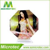 Cristallo - piccolo vetro Octagonal Bsj26c di sublimazione