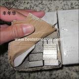 Le segment pour le meulage circulaire de découpage de diamant scie la lame