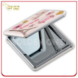 Sale caldo Crystal Decoration Folding Make up Mirror per Ladies