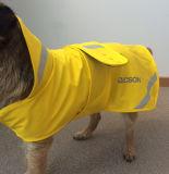 Geel Pu Raincoat voor Pet