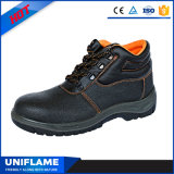 De Schoenen Ufa008 van de Veiligheid van het Leer van het merk