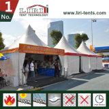 Tente de pagoda de crête élevée avec le mur en verre pour l'usager de luxe et l'événement de 20 personnes