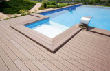 O Decking composto contínuo de WPC embarca 140mm x 25mm Intertek testado