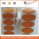 종이 PVC의 인쇄를 투명한 서비스 자동 접착 인쇄한 스티커 레테르를 붙이십시오
