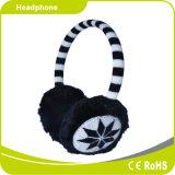 La charpie de peluche protègent l'écouteur stéréo chaud de Smartphone de subsistance d'oreille