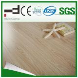 pavimento laminato giallo-chiaro di serie di superficie lucida di 12mm