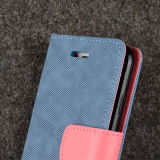 Leer Wallet Flip Case Credit Card voor iPhone 6s