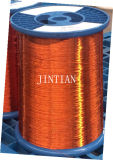 Magnetdraht Klasse 155 Nylon / Polyester Geändert runden Kupferdraht