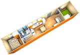 カスタマイズされたデザインの避難者の住宅施設