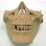 Airsoft 두개골 해골 절반 마스크 프로텍터 Airsoft 가면