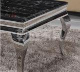 食堂のための現代ステンレス鋼のコーヒーテーブル