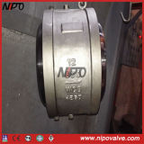 Bw End Butt Welded Dual Plate Swing Check Valve
