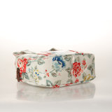 (99184) Bolsos retros florales de los bolsos de hombro de la lona impermeable del PVC