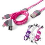 3 в USB Cable One Phone Accessories Data для iPad Apple Samsung HTC