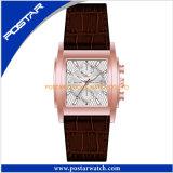 工場人の女性のための標準的なクロノグラフの腕時計