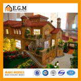 Modelos da exposição/modelo da casa de campo/modelo do edifício/modelo arquitectónico que faz/todo o tipo dos sinais