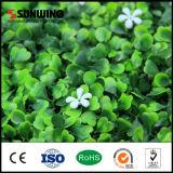 La fleur en plastique de protection de frontière de sécurité verte bon marché UV de jardin plante la vente de murs