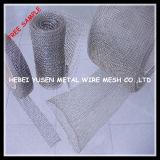 Rete metallica lavorata a maglia