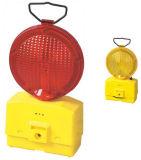 Verkehrs-Strecke-warnende Lampe drei der AA-Batterie-sichtbare Barrikade-LED
