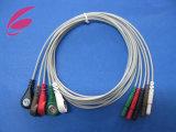 5 cable del plomo ECG