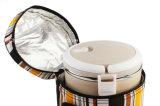 مسيكة برميل شكل علبة باردة حراريّ يعزل وجبة غداء مبرّد حقيبة