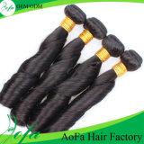 人間の毛髪のかつらのマレーシアのRemyのばねのカーリーヘアーの製品